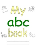 My ABC Book - A is for...