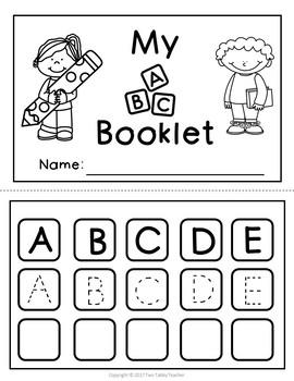 Alphabet Booklets (three formats)