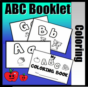 My ABC Coloring Booklet