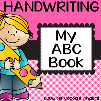 Alphabet Letter Practice Book - Handwriting