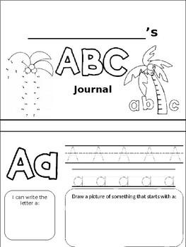 My ABC Journal