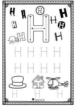 My ABC Letter Book (trace letters)