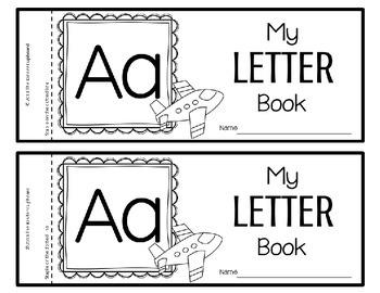 My ABC Letter Books