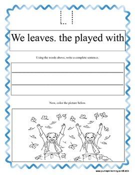 My ABC Sentences