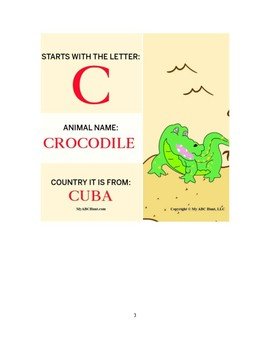 My ABC Treasure Hunt Flashcards
