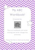 My ABC Workbook Vowel Freebie