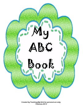 My ABC and 123 Book