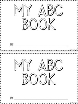 My ABC book
