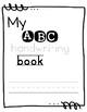 My ABC handwriting book