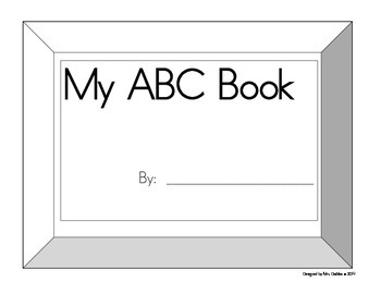 My ABC (uppercase letters) Book