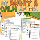 My Angry & Calm Animal for Anger Management Google Classro