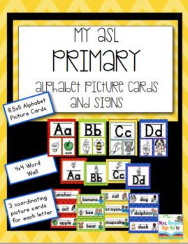 My ASL Classroom  PRIMARY BUNDLE