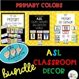 My ASL Classroom  PRIMARY BUNDLE