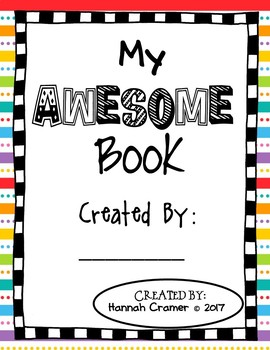 My AWESOME Book