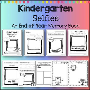 End of Year Activity - My AWESOME Kindergarten Memory Book