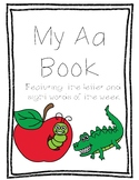 Letter Aa Book