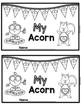 My Acorn Emergent Reader: Sight Word: My (With Color Words)