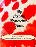My Acrostic Homeschool Poem
