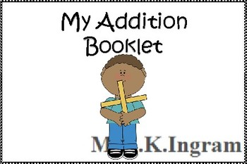 My Addition Booklet