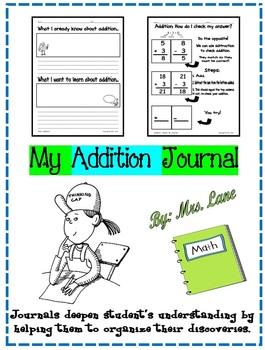 My Addition Journal