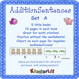 My Addition Number Sentences - Set A