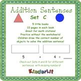 My Addition Number Sentences Set C