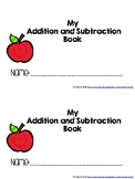 My Addition and Subtraction Book