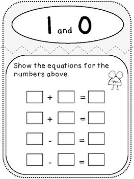 My Addition and Subtraction Book (First Grade, 1.OA.4)