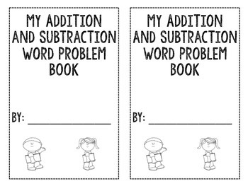 My Addition and Subtraction Word Problem Book