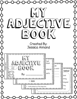 My Adjective Book - color, shape, size