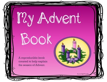 """Advent Book- """"My Advent Book"""""""
