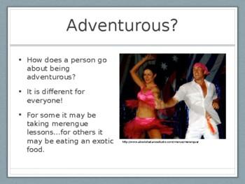 My Adventurous Self Presentation