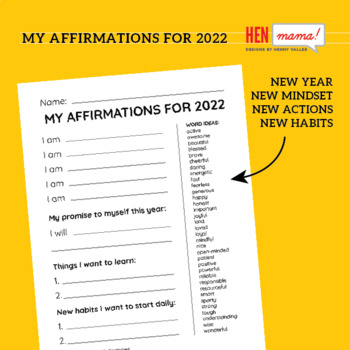 My Affirmations for New Year 2020