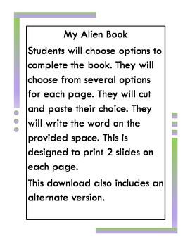 My Alien Book