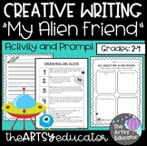 Create an Alien Friend Creative Writing Activity -- [2nd, 3rd, 4th Grade]