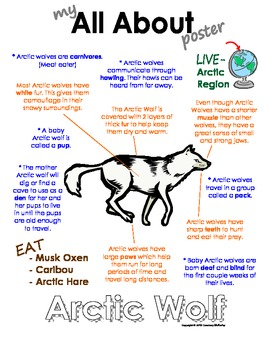 My All About Arctic Wolf Book - (Arctic/Polar Animals)