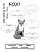 My All About Fox Book / Workbook - ( Forest / Woodland Animals )