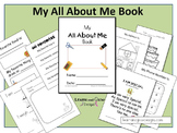 My All About Me Book