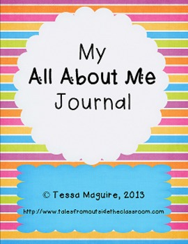 My All About Me Journal