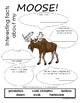 My All About Moose Book / Workbook - (Forest / Woodland Animals)