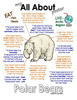 My All About Polar Animals Books - Bundle Pack (5) - Arctic & Antarctic animals