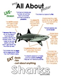 My All About Sharks Book - Ocean Animal Unit Study