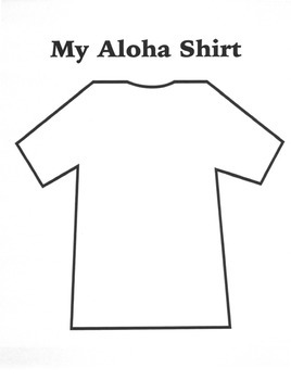 My Aloha Shirt: A Get to Know You Activity