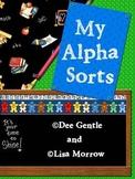 My AlphaSorts Complete Alphabet Beginning Sound Sorts