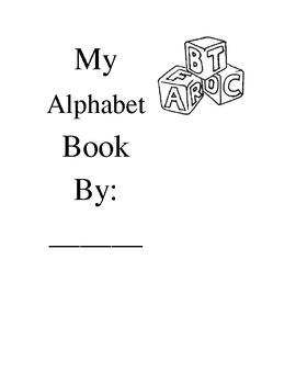 My Alphabet Book-