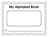 My Alphabet Book -29 Page Finish Me Book