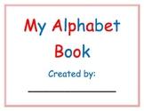 My Alphabet Book - A Multi-Sensory Approach