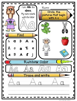 Learning Letters and Sounds from A to Z