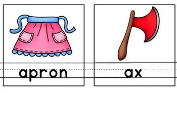 My Alphabet Book Companion- Letter A Alphabet Book