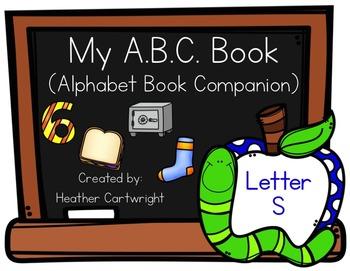 My Alphabet Book Companion- Letter S Alphabet Book